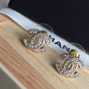 Authentic Chanel Studs